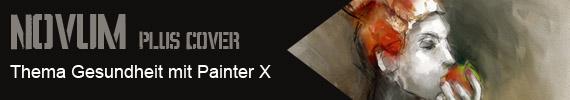 Novum Plus Cover - Thema Gesundheit mit Painter X